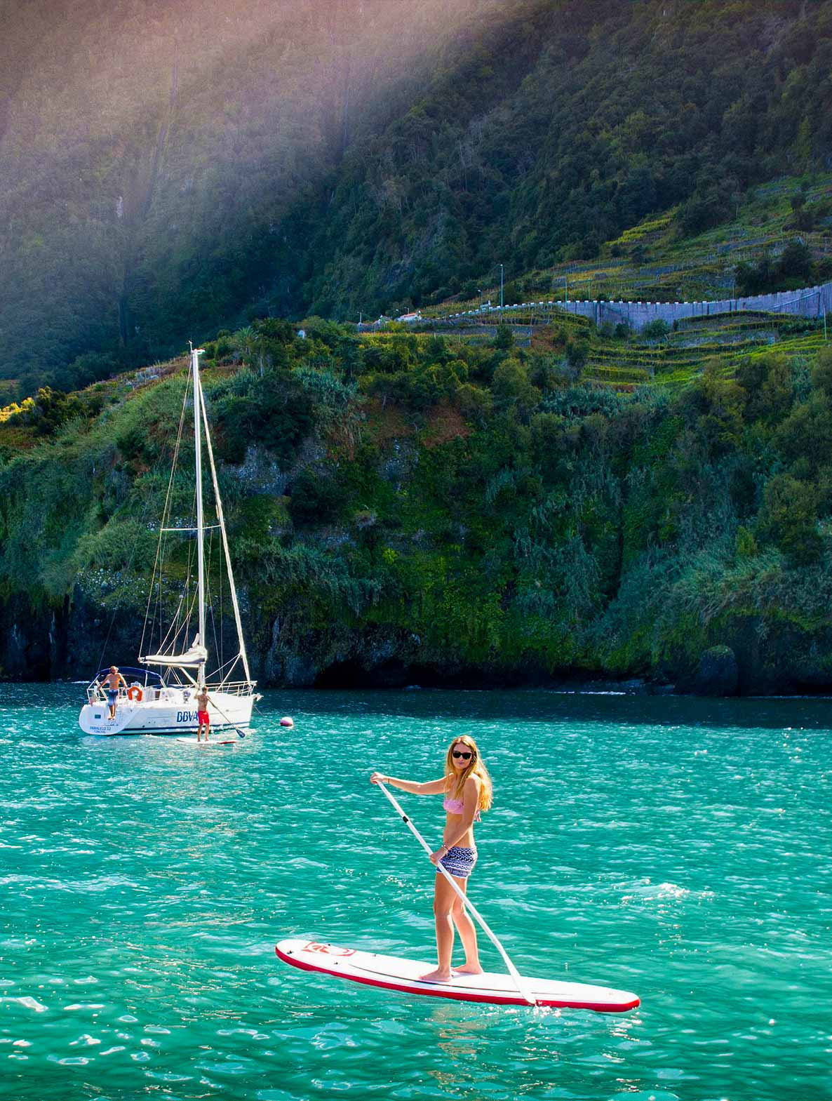 Madeira Selection Hotels Activities Paddle Surf and Sailing